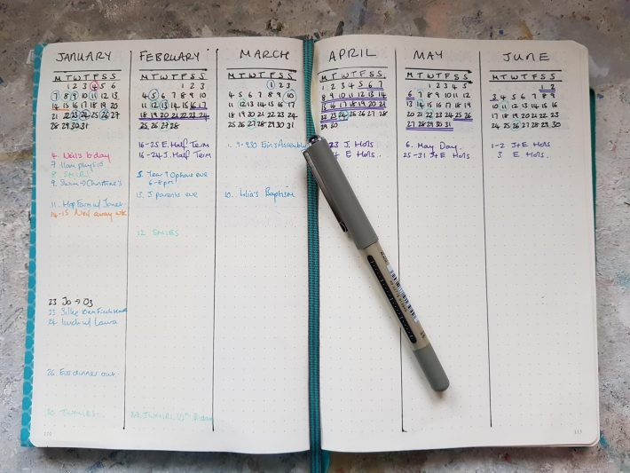 Bullet Journal for busy mums in business